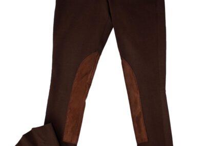 Brown Front Zip