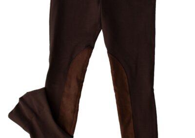 Brown Side Zip