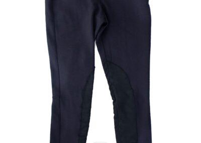 Navy Side Zip