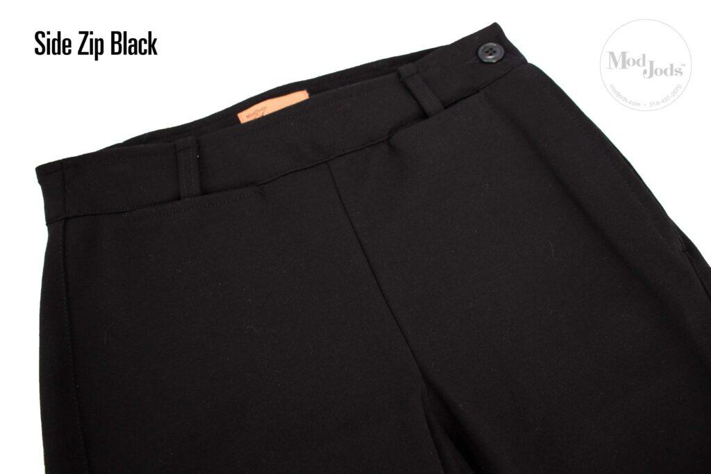 Side Zip Top Black
