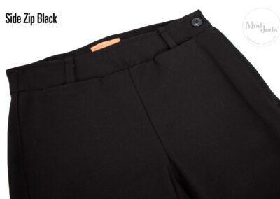 Black Side Zip