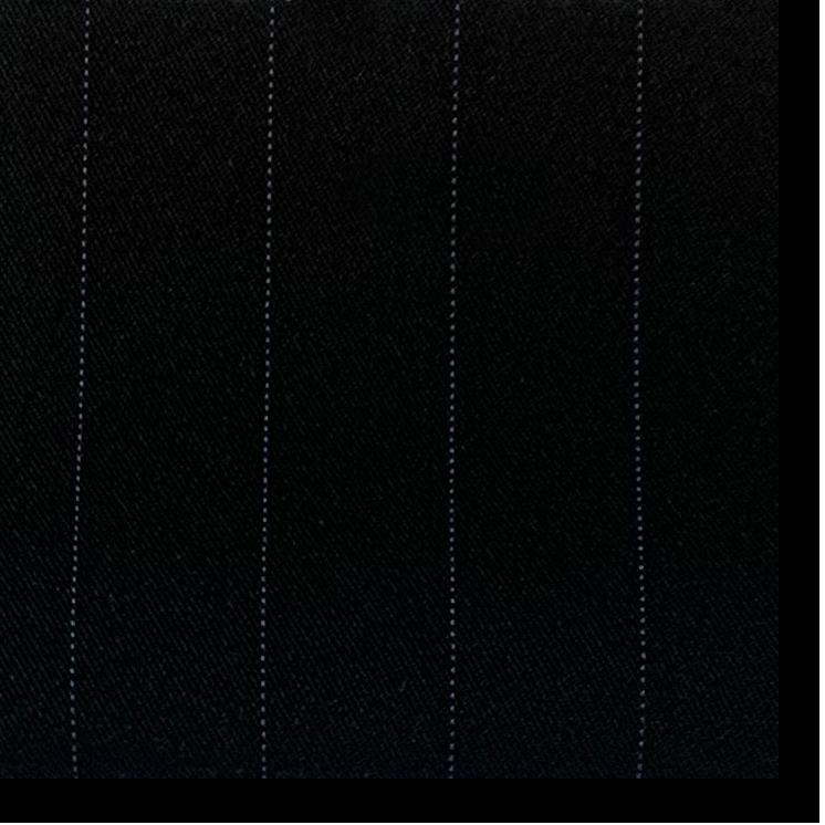 Black with Purple Pinstripe