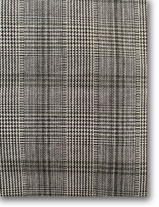 Taupe Plaid Suiting